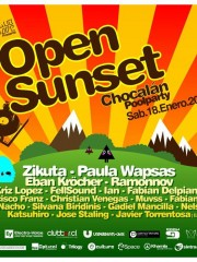 Open Sunset Chocalán – Poolparty