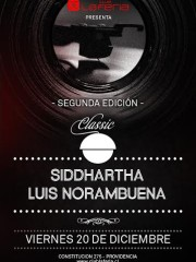 Siddhartha & Luis Norambuena