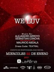 We Luv @ Evento a Beneficio Teatro Municipal Santiago