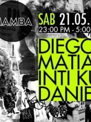 Diegors + Daniel Klauser + Matias Rivera + Inti Kunza