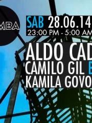 Aldo Cadiz/Camilo Gil b2b Leo Vargas/Kamila Govorcin