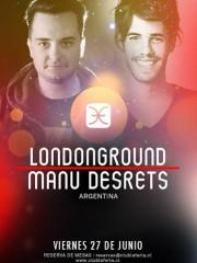 Manu Desrets & LondonGround