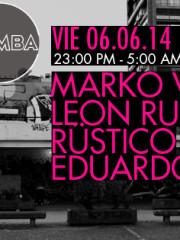 Rüstico + Marko Viches + León Ruiz + Sarty