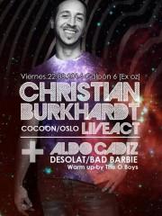 Christian Burkhard en Chile