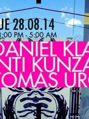 Daniel Klauser + Tomas Urquieta + Inti Kunza en MAMBA