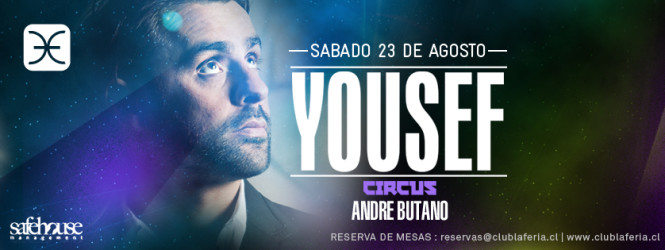 Yousef @Club La Feria
