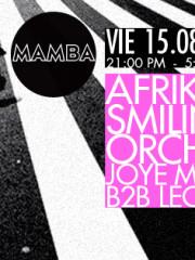 AFRIK and the Smiling Orchestra LIVE Joye Mitarakis b2b Leon Ruiz