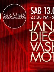 Lanzamiento JANAKI (live) + DIEGORS + VASKULAR + MOTIVADO