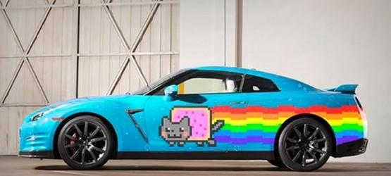 Nuevo Auto Nyan Cat Para Deadmau5