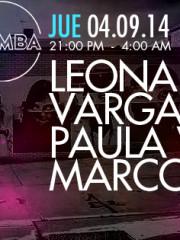 PAULA WAPSAS + LEONARDO VARGAS + MARCO PARODI