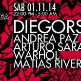DIEGORS B-DAY // Andrea Paz + Arturo Saray + Warhol + Matias Rivera