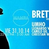 MAMBA presenta Brett Johnson <<Halloween Night>>