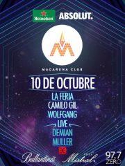 Macarena Club <3 WolfGang + (Live) + Demian Muller