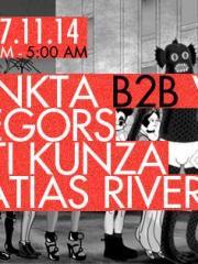 Funkta B2B Villanueva + Diegors + Inti Kunza + Matias Rivera