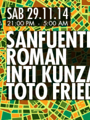 Sanfuentes + Roman + Inti Kunza + Toto Friedlaender en MAMBA