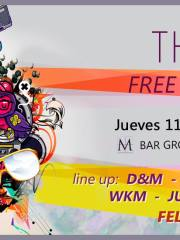 The ART (Free Style Edition) – Jueves 11 Diciembre – M Bar Groove