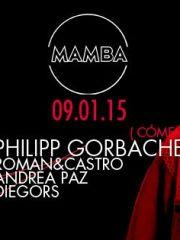 """Aniversario """"Nº1"""" MAMBA presenta a Philipp Gorbachev (Moscú/Berlín)"""