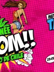 MATINÉE BOOM Santiago de Chile ● Taito Tikaro y Bruno Calderon ● 23 de Enero