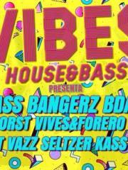 JUEVES 4 VIBES House&Bass BASS BANGERZ BDAY Ciclo Verano @M Bar Groove Las Condes