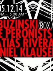 Labuzinski (Berlin) / The Peronists (Argentina) / Matias Rivera / Daniel klauser en MAMBA