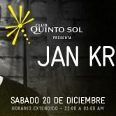 Club Quinto Sol presenta Jan Krueger