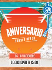 CUARTO ANIVERSARIO 5unset Beach 2015