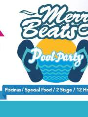 JUEVES 25 / MERRY-BEATS / 12 HRS DE MUSICA / 2 STAGES+POOl PARTY