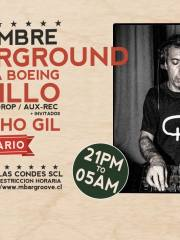 Love is Underground #2 / LEONEL CASTILLO desde Argentina @ M Bar Groove / + Culture Clap & Nacho Gil