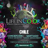 "Life in Color ""World's Largest Paint Party"" Chile"