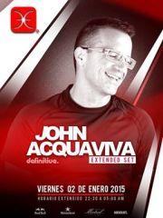 ~ Club La Feria presenta ~  John Acquaviva  Viernes 2 de Enero
