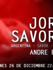 Jorge Savoretti (Argentina/Savor Records) @ Club La Feria ~ Viernes 26.12