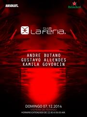 ~ Club La Feria presenta ~  Kamila Govorcin Gustavo Allendes André Butano