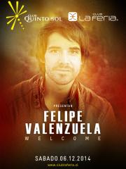 ~ Club La Feria presenta ~  Welcome Felipe Valenzuela  Rodrigo Valdivia