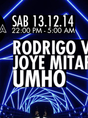UMHO + Rodrigo Valdivia + Joye Mitarakis en Mamba
