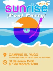 Sunrise @ Festival Electrónico 2015 – Valdivia