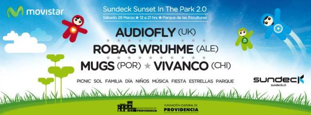 Sundeck @ Sunset in the Park 2.0