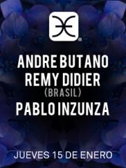 André Butano, Remy Didier, Pablo Inzunza @ Club La Feria ~ Jueves 15.01