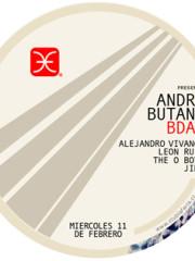 André Butano B-Day with Alejandro Vivanco, The O Boys, León Ruiz, Jimi @ Club La Feria ~ Miércoles 11.02