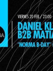 Daniel Klauser B2B Matias Rivera — Norma B-Day