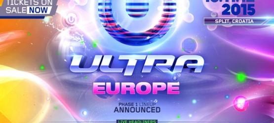 PRIMERAS CONFIRMACIONES DE ULTRA EUROPE 2015