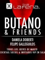 Butano & Friends @ Club La Feria ~ Jueves 12.03