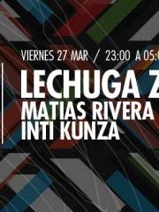 Lechuga Zafiro (Uruguay), Inti Kunza y Matias Rivera en MAMBA