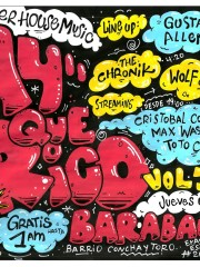 AyQueRico Vol.3!! Gustavo Allendes, The Chronik, Wolf&Mans (LiveAct)