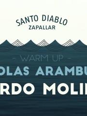 JUEVES SANTO – RICARDO MOLINARI// NICOLAS ARAMBURU EN SANTO DIABLO