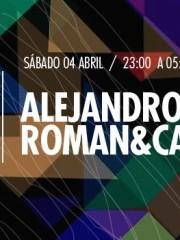 Roman&Castro y Alejandro Paz en MAMBA