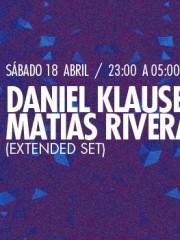 Daniel Klauser B2B Matias Rivera (Extended set) en MAMBA