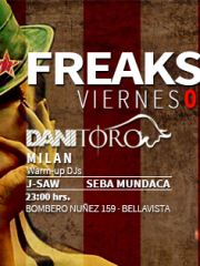 TAURUS FREAKSHOW ● DJ Dani Toro ● 8 de Mayo