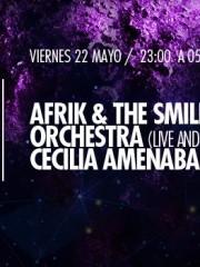 Afrik & The Smiling Orchestra (Live and djset), Cecilia Amenabar en MAMBA