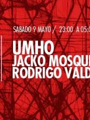UMHO, Jacko Mosqueira y Rodrigo Valdivia en MAMBA