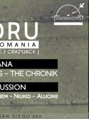 UNDERNOTES presenta XANDRU [Rumania] TEATRO CAUPOLICAN 2 pistas VIERNES 15 MAYO